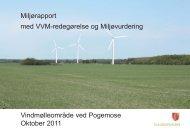 Miljørapport vindmøller Pogemose - Guldborgsund Kommune