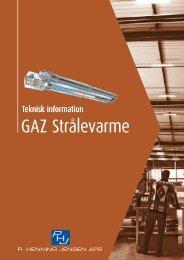 GAZ Strålevarme - Velkommen til P. Henning Jensen ApS