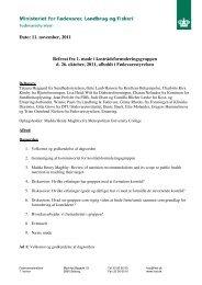 Referat fra 1. møde i formuleringsgruppen - Alt om kost