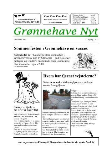 2-2007 - Grønnehave Grundejerforening