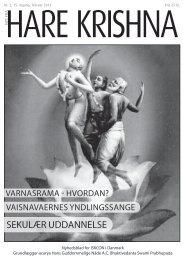 SEKULÆR UDDANNELSE - ISKCON Danmark