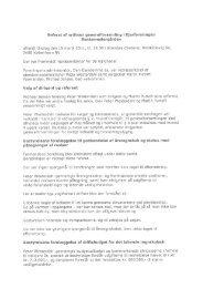 Referat af ordinær generalforsamling i Ejerforeningen - Lokalbolig
