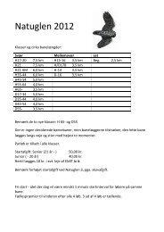 Fælles indbydelse til Natuglen 2012 - Herning Orienteringsklub