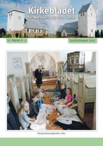 Kirkeblad nr. 3, 2012 - Næsbjerg Kirke