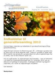 Indkaldelse til generalforsamling 2012 - Grundejerforeningen ...