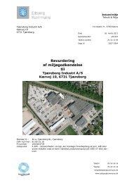 Revurdering af miljøgodkendelse til - Esbjerg Kommune