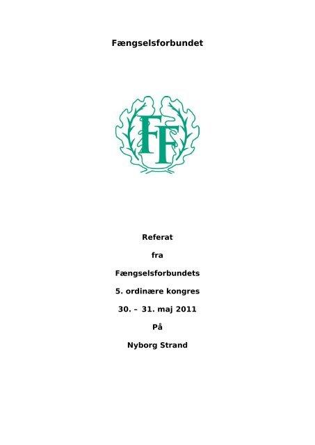 Kongressen 2011 - Fængselsforbundet