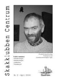 Klubblad nr. 2/2004 - Skakklubben Centrum