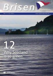 Why Scotland is so green - Sejlklubben København