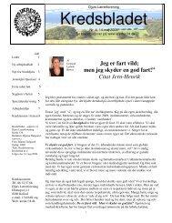 Kredsbladet - Djurs Lærerforening