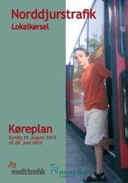 Køreplan 2012 - Auning Skole