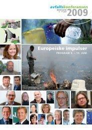 Europeiske impulser - Avfall Norge