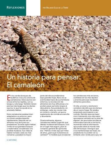 Un historia para pensar: El camaleón - Coparmex