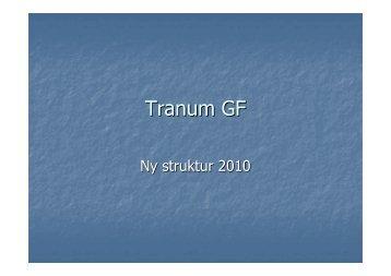 Tranum GF - KlubCMS