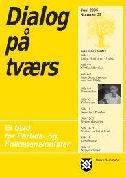 Et blad for Førtids- og Folkepensionister Dialog ... - Greve Kommune