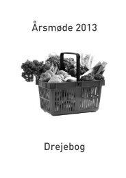 Årsmøde 2013 Drejebog - forum