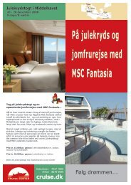 MSC Fantasia - Rejs.dk