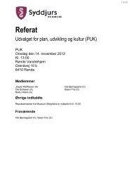 Samlet dokument - Syddjurs Kommune