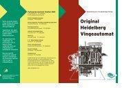 Original Heidelberg Vingeautomat - Grafisk BAR