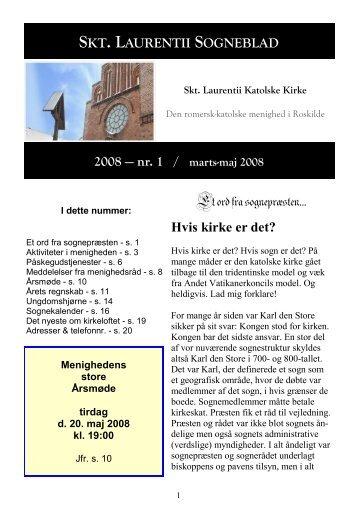 Sogneblad 2008-1 - Sankt Laurentii Kirke
