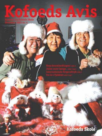 Nyheder fra Kofoeds Skole December 2005 nr. 4 Stop ...