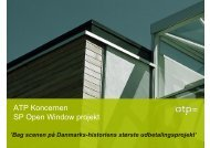 ATP Koncernen SP Open Window projekt - Kromann Reumert