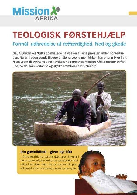 Til on-line gennemsyn - Mission Afrika