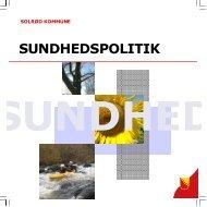 SUNDHEDSPOLITIK - Solrød Kommune