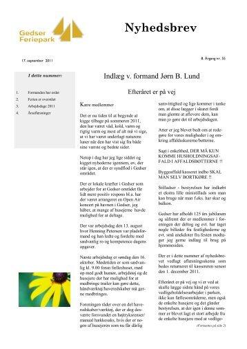 Nyhedsbrev nr. 55 - September - 2011 - Ejerlejlighedsforeningen ...