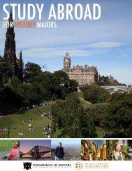 Study Abroad for History Majors brochure (PDF, 557K)