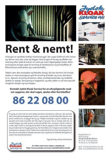 Løsblad om industri rensning - Jydsk Kloak Service A/S