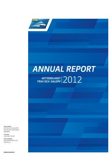 Annual Report 2012 - ATG