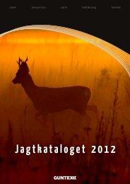 Jagtkataloget 2012 - Guntex