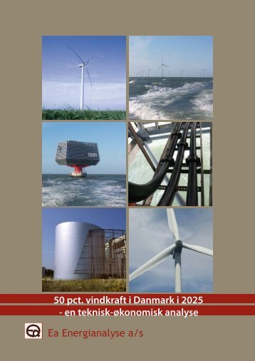 Ea Energianalyse a/s 50 pct. vindkraft i Danmark i 2025 ... - Balmorel