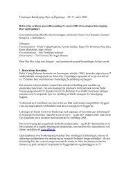 referat fra generalforsamlingen - Foreningen Bæredygtige Byer og ...