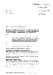 Afgørelse - Miljøstyrelsen