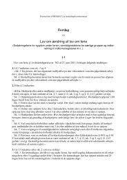 Forslag Lov om ændring af lov om ferie - RegnskabsMail