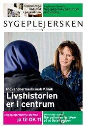 Sygeplejersken 2011 Nr. 7 - Dansk Sygeplejeråd