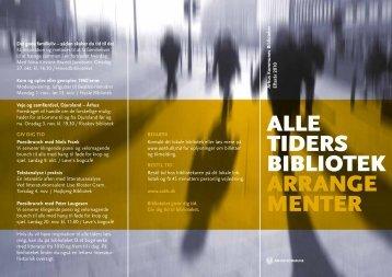 alle tiders bibliotek arrange menter - Aarhus Kommunes Biblioteker