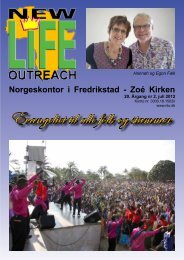 New Life Outreach nr 2 - 2008 - Zoé Kirken