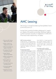 Fact Sheet Leasing.indd - AMC - AMC Consult