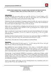 pdf Formandens beretning fuld ordlyd - Dampskibsselskabet ...
