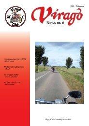News nr. 6 - Virago MC Tur Klub