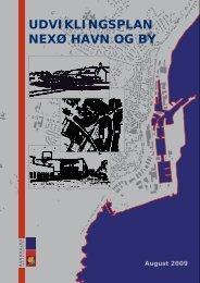 udviklingsplan nexø havn og by - Bornholms Regionskommune