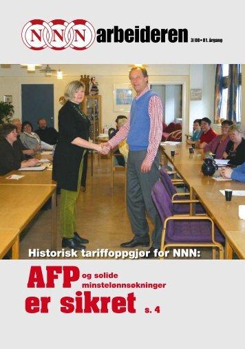 AFP er sikret s. 4 - Minorg.no