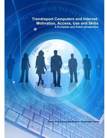 Trendreport Computers and Internet - Universiteit Twente