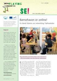 Børnehaven er online! En dansk historie om networking - mPc