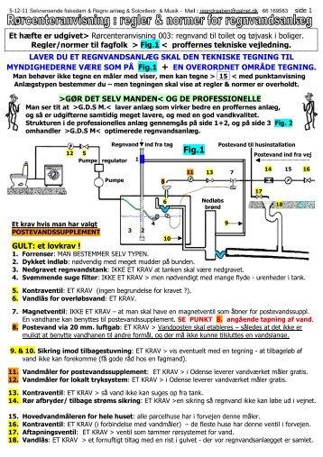 1) Regnvandsanlæg
