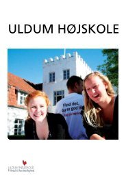 Download brochure (som pdf). - Uldum Højskole