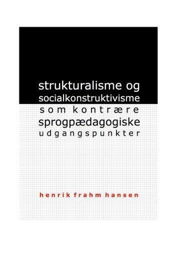 Strukturalisme og socialkonstruktivisme